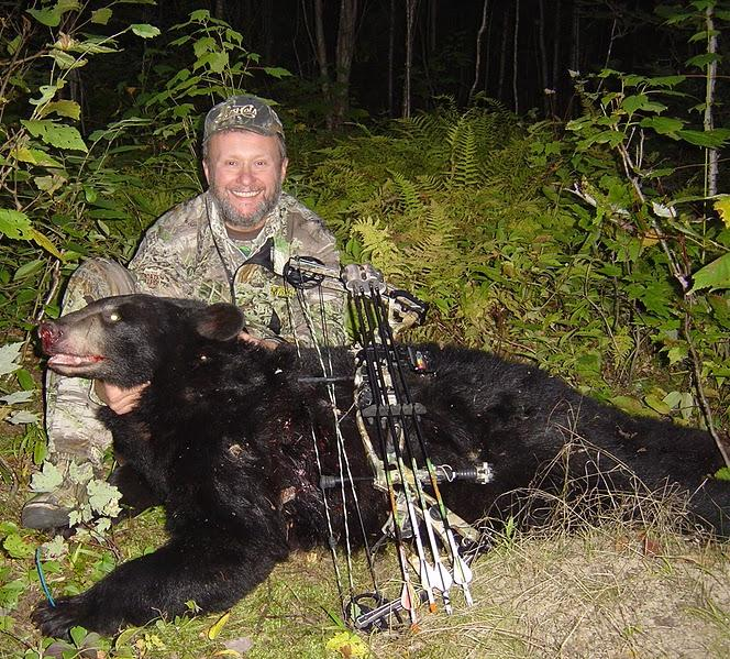 Jerry Gareri with Black Bear