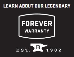 Buck Knives Forever Warranty