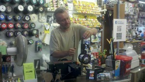 Re-spooling with Fresh Fishing Line Milford MA