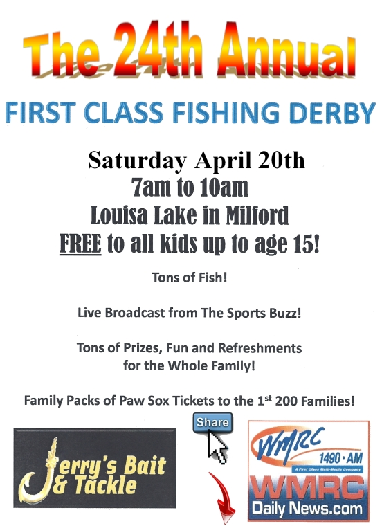 24th Annual First Class Fishing Derby