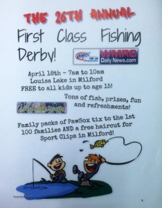 The 26th Annual First Class Fishing Derby